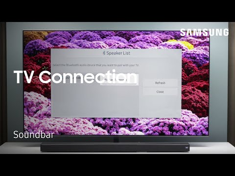 How to connect your Soundbar to a TV using Bluetooth | Samsung US