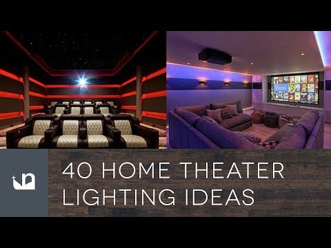 40 Home Theater Lighting Ideas