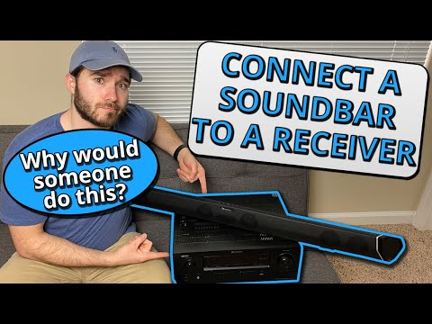 How to Connect a Soundbar to a Receiver (Should You Do It?)