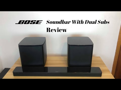 Bose Soundbar 700 with Dual sub New 2020 Review !!!!!