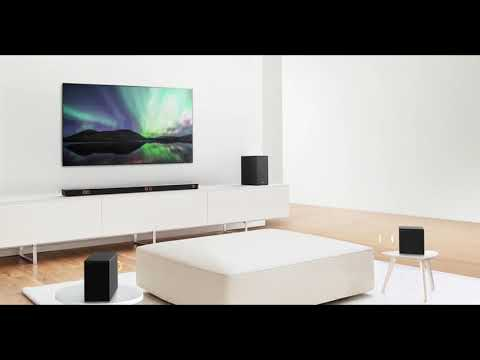 LG Sound Bar Demo: Where to Put Speakers in a Room | LG USA