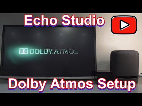 Amazon Echo Studio - Setting and using Dolby Atmos on Fire TV Cube