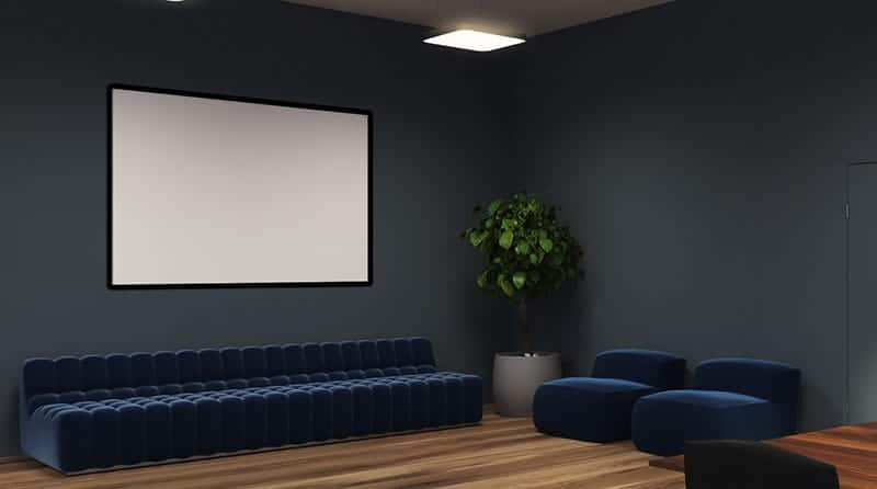 Type of paint for projector screen