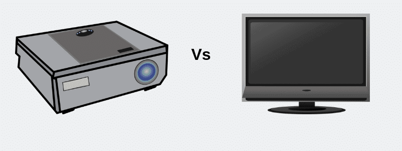 LED Projector Vs LED TV