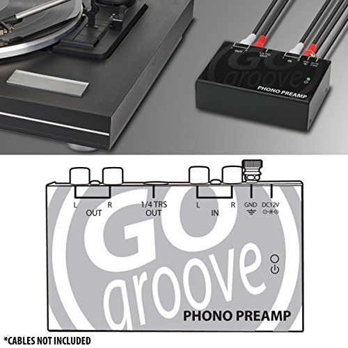 phono preamp for turntables