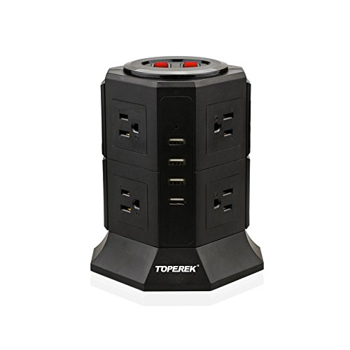 TOPEREK Power Strip with Surge Protection