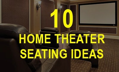10 Home Theater Seating Ideas That You Ll Love