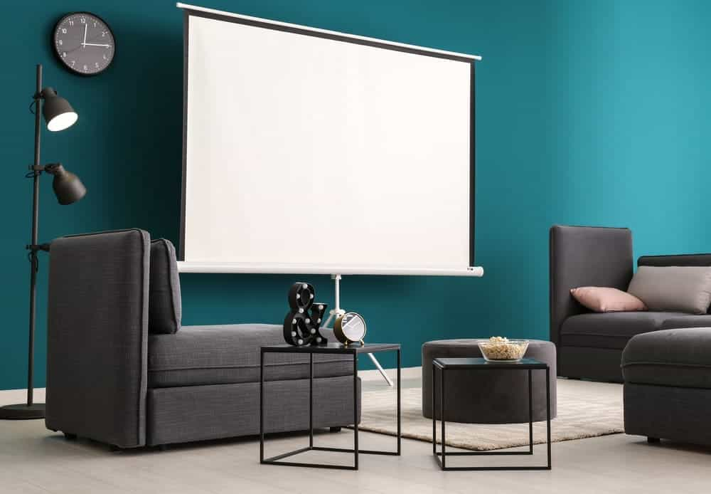 Home Theater Seating For A Projector
