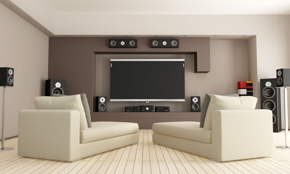 Home Theater Seating Idea 1