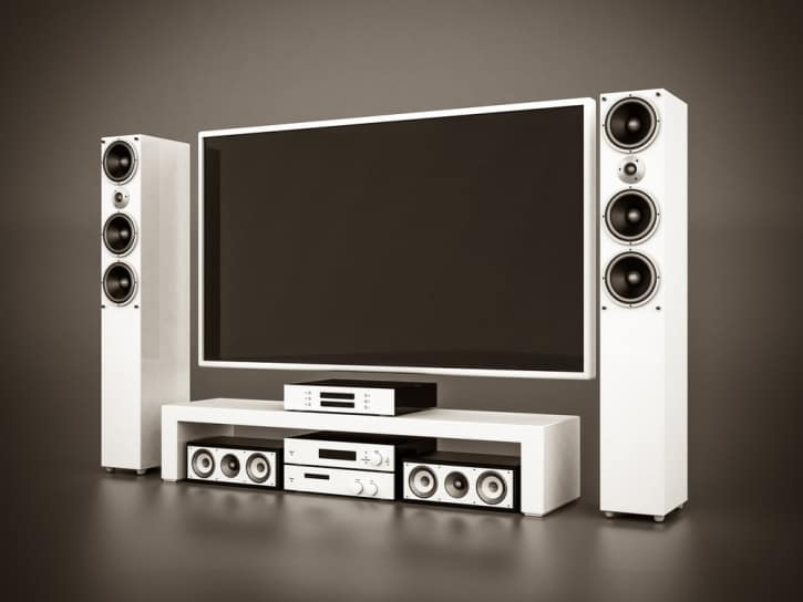 how do home theater systems work