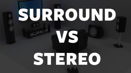 surround sound vs stereo difference