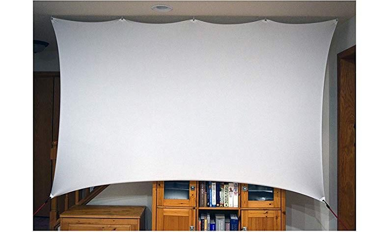 Use a Sheet as a Projector Screen