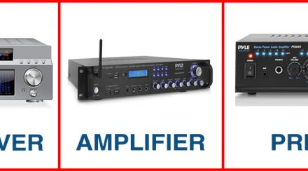 Receiver vs. Amplifier vs. Preamp