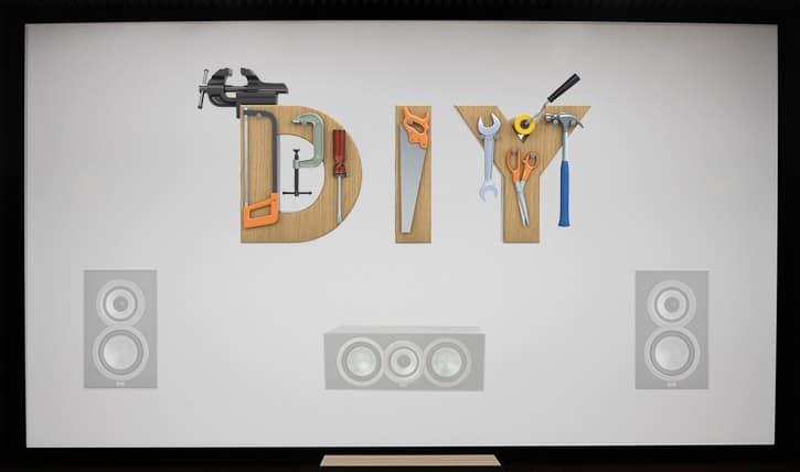 DIY Acoustically Transparent Screen