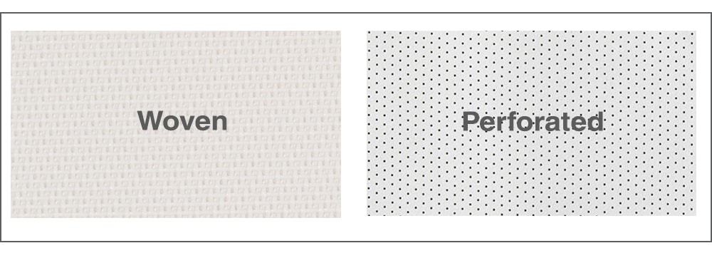 Perforated vs. Woven Fabric for Screens