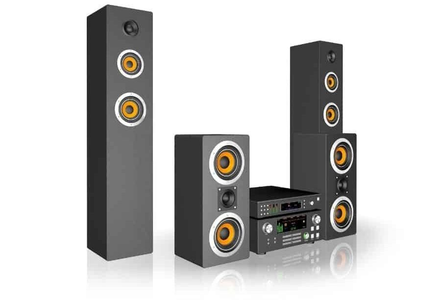 Differences Between Surround and Back Speakers