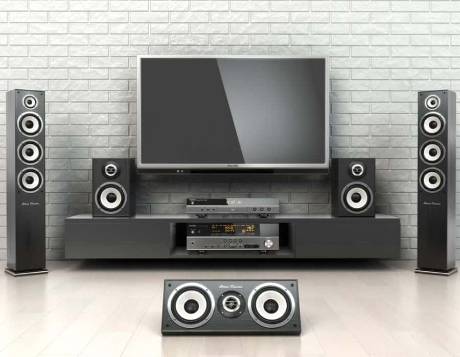mix speakers Home Theater
