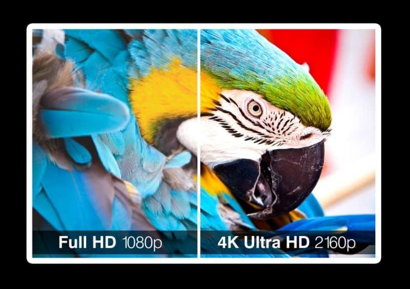4K vs. 1080p Projector