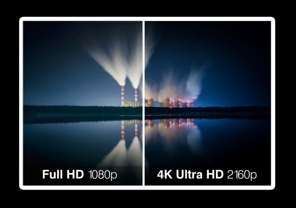 4K vs. 1080p Projector resolution