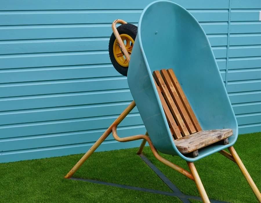 DIY Outdoor Furniture Indoors
