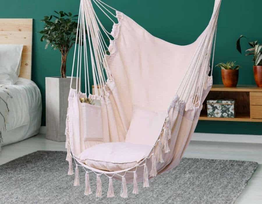 Hanging Macrame Chairs