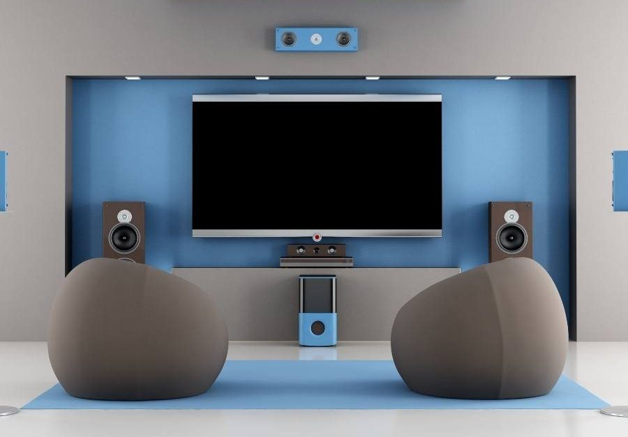 Sofa Beds_Chaise home theater home theater room layout