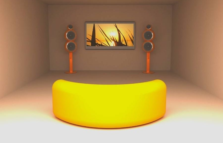 curved home theater home theater room layout