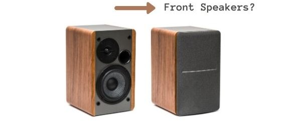 Can I Use Bookshelf Speakers as Front Speakers_