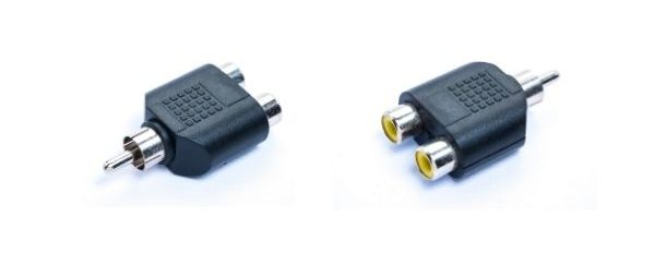Use a Line Level RCA Converter