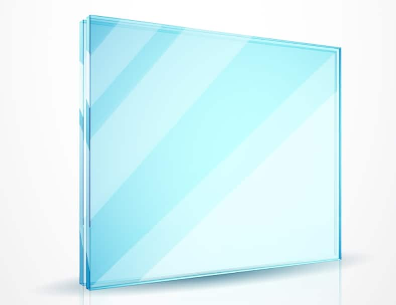 float glass projector screen