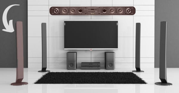 Tower Speakers vs. Soundbar for Home Theater