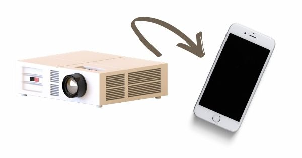 How to connect an iPhone to a projector