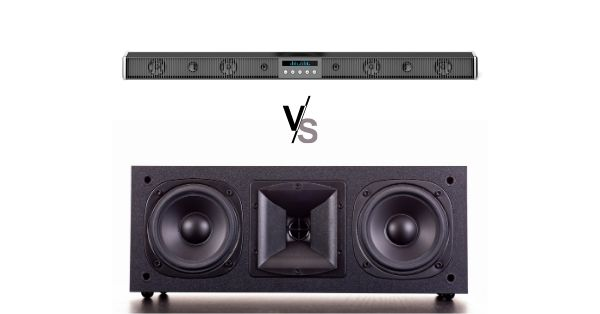 Center Channel Speaker vs. Soundbar