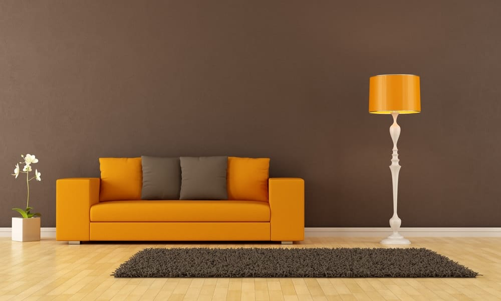 brown colored wall