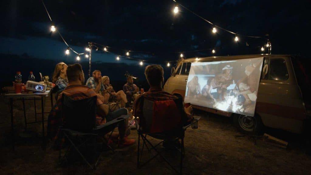 how projectors project black